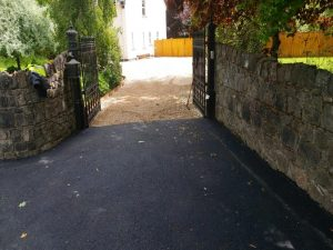 Ballylusk Gravel Driveway with a Tarmac Apron in Co. Kildare