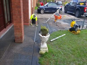 Block Paved Driveway Re-laid in Corbally, Limerick