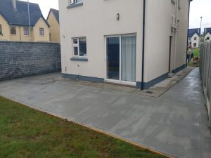 Concrete Driveway and Patio in Limerick City