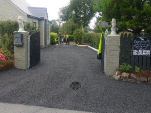 Double Coated Tar and Chip Driveway in Trim, Co. Meath