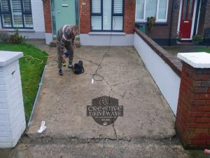 Grey Resin Bound Driveway in Limerick City