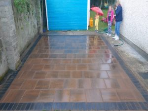 New Barleystone Patio with Charcoal Border in Limerick City