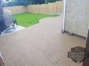 Resin Bound Patio in Limerick City