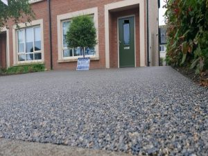 Silver Grey Resin Bound Driveway in Leixlip, Co. Kildare