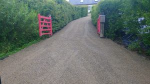 New Tar and Chip Driveway in County Limerick