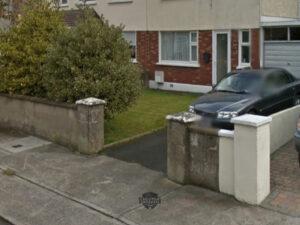 Tarmac Driveway with Barleystone Brick Border in Rathcoole, Co. Dublin