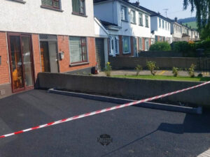 Tarmac Driveway with Double Brick Border in Rathcoole, Co. Dublin