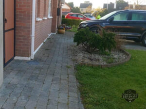 Tarmac Driveway with Re-Purposed Brick Border in Limerick