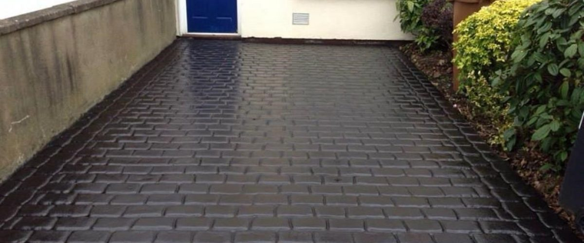 Imprint Concrete Surfacing on Driveway in Kildare